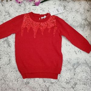 George 12-18M Knitted Pullover Sweater